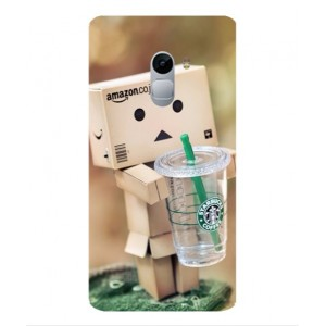 Coque De Protection Amazon Starbucks Pour Lenovo Vibe X3 Lite