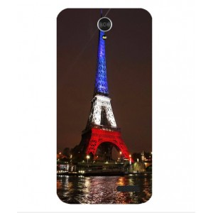 Coque De Protection Tour Eiffel Couleurs France Pour ZTE Grand X 3