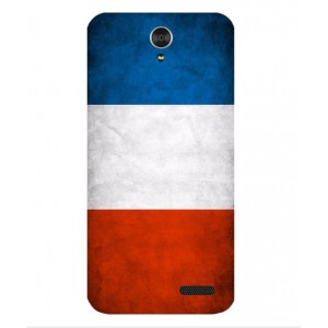 Coque De Protection Drapeau De La France Pour ZTE Grand X 3