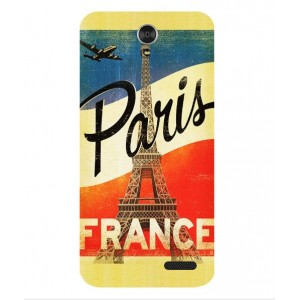 Coque De Protection Paris Vintage Pour ZTE Grand X 3