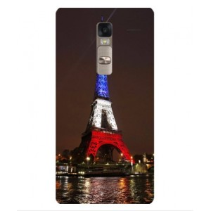 Coque De Protection Tour Eiffel Couleurs France Pour LG Class