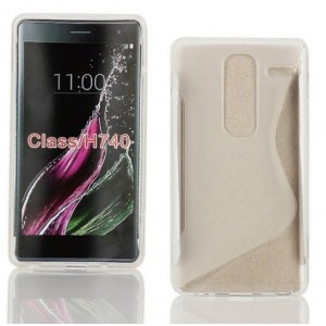 Coque De Protection En Silicone Transparent Pour LG Class