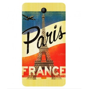 Coque De Protection Paris Vintage Pour Microsoft Lumia 430 Dual SIM