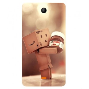 Coque De Protection Amazon Nutella Pour Microsoft Lumia 430 Dual SIM