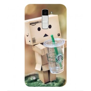 Coque De Protection Amazon Starbucks Pour LG K10