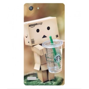 Coque De Protection Amazon Starbucks Pour Oppo A33