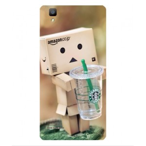 Coque De Protection Amazon Starbucks Pour Oppo F1