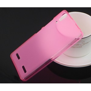 Coque De Protection En Silicone Rose Pour Lenovo Lemon K3
