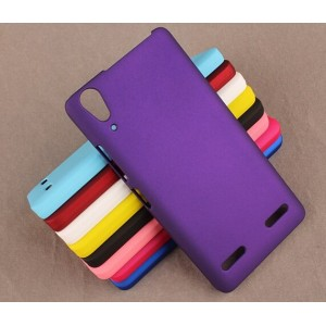 Coque De Protection Rigide Violet Pour Lenovo Lemon K3