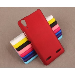Coque De Protection Rigide Rouge Pour Lenovo Lemon K3