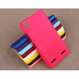 Coque De Protection Rigide Rose Pour Lenovo Lemon K3