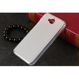 Coque De Protection En Silicone Blanc Pour Huawei Enjoy 5