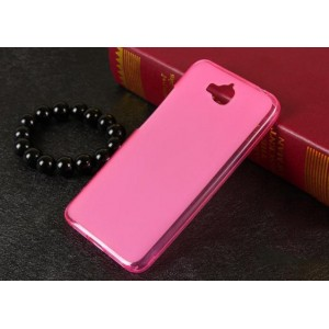 Coque De Protection En Silicone Rose Pour Huawei Enjoy 5