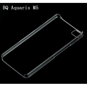 Coque De Protection Rigide Transparent Pour BQ Aquaris M5