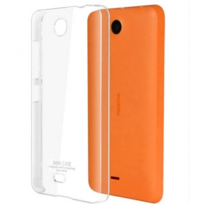 Coque De Protection Rigide Transparent Pour Microsoft Lumia 430 Dual SIM