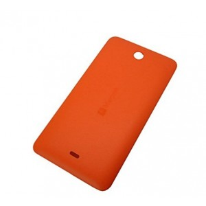 Cache Batterie Pour Microsoft Lumia 430 Dual SIM - Orange