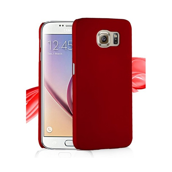 coque protection rigide rouge samsung galaxy s7 edge. Black Bedroom Furniture Sets. Home Design Ideas