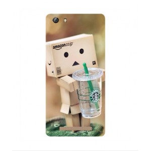 Coque De Protection Amazon Starbucks Pour Gionee Marathon M5 Mini
