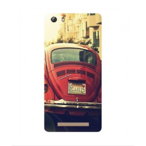 Coque De Protection Voiture Beetle Vintage Gionee Marathon M5 Mini