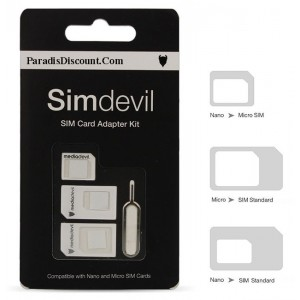 Adaptateurs Universels Cartes SIM Pour iPhone 5