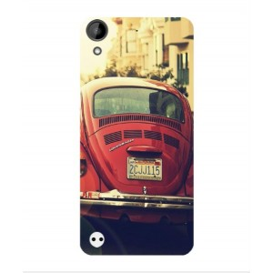 Coque De Protection Voiture Beetle Vintage HTC Desire 630