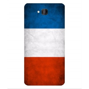 Coque De Protection Drapeau De La France Pour Huawei Honor Holly 2 Plus