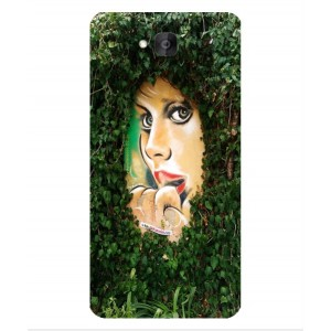 Coque De Protection Art De Rue Pour Huawei Honor Holly 2 Plus