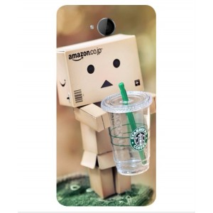 Coque De Protection Amazon Starbucks Pour Microsoft Lumia 650