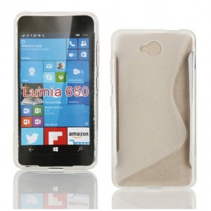 Coque De Protection En Silicone Transparent Pour Microsoft Lumia 650