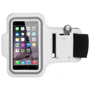 Brassard Sport Pour iPhone 6 Plus - Blanc