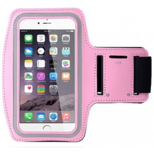 Brassard Sport Pour iPhone 6 Plus - Rose