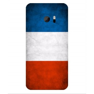 Coque De Protection Drapeau De La France Pour HTC 10 Lifestyle