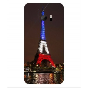 Coque De Protection Tour Eiffel Couleurs France Pour HTC 10 Lifestyle