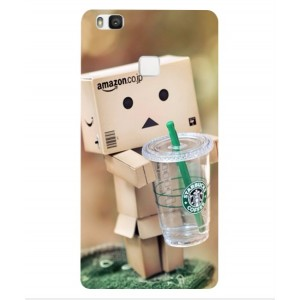 Coque De Protection Amazon Starbucks Pour Huawei P9 Lite