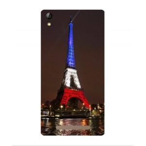 Coque De Protection Tour Eiffel Couleurs France Pour Acer Liquid X2