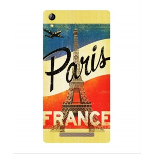 Coque De Protection Paris Vintage Pour Acer Liquid X2