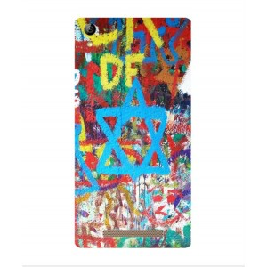 Coque De Protection Graffiti Tel-Aviv Pour Acer Liquid X2