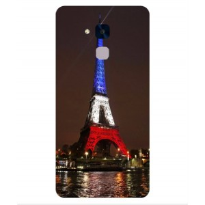 Coque De Protection Tour Eiffel Couleurs France Pour Huawei Honor 5c