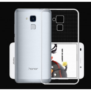Coque De Protection En Silicone Transparent Pour Huawei Honor 5c