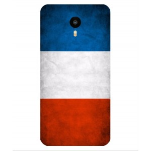 Coque De Protection Drapeau De La France Pour Meizu M1 Metal