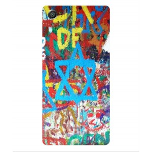 Coque De Protection Graffiti Tel-Aviv Pour Sony Xperia X
