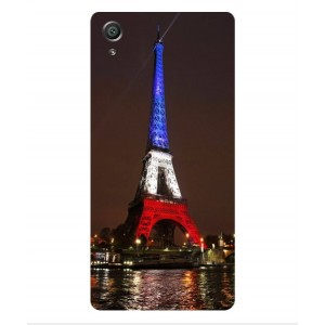 Coque De Protection Tour Eiffel Couleurs France Pour Sony Xperia X Performance