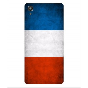 Coque De Protection Drapeau De La France Pour Sony Xperia X Performance