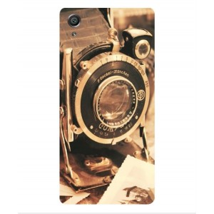 Coque De Protection Appareil Photo Vintage Pour Sony Xperia X Performance
