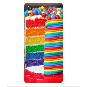 Coque De Protection Gâteau Multicolore Pour Sony Xperia X Performance
