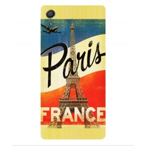 Coque De Protection Paris Vintage Pour Sony Xperia XA Dual