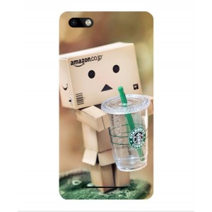 Coque De Protection Amazon Starbucks Pour Wiko Lenny 3