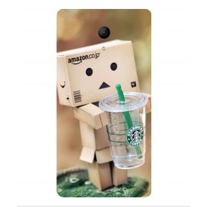 Coque De Protection Amazon Starbucks Pour Wiko Robby