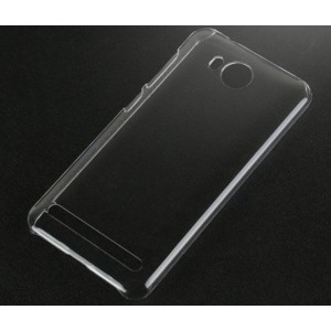 Coque De Protection Rigide Transparent Pour Huawei Y3II