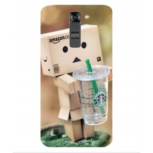 Coque De Protection Amazon Starbucks Pour LG K7